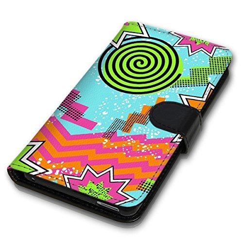 Wallet Book Style Flip Handy Tasche Case Schutz Hülle Schale Motiv Etui für Apple iPhone 6 Plus / 6S Plus - Design Flip MVD128