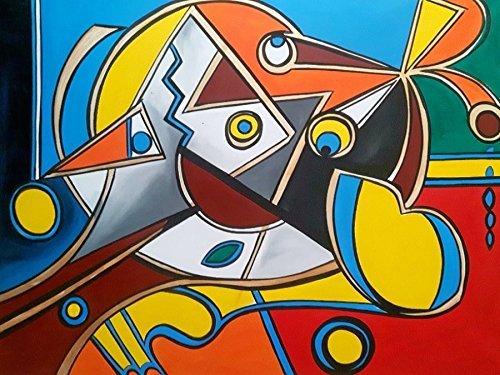 Original Kunstwerk Gemälde 120 X 90 Cm In Jede Richtung Aufhängbar