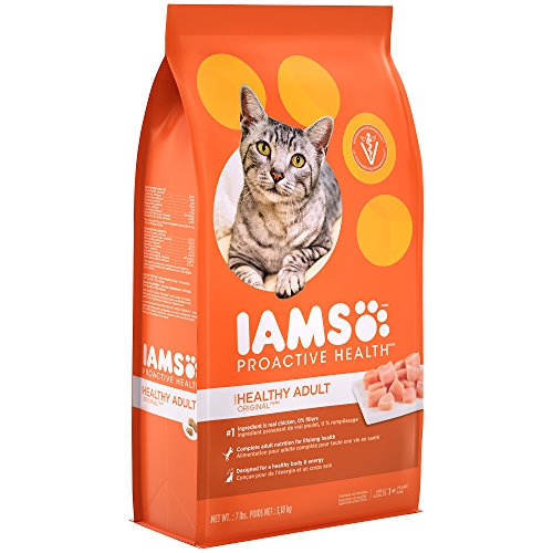 Iams PROACTIVE HEALTH Adult Original With Chicken Dry Cat Food 7 Pounds