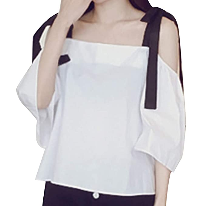 Vectry Camisetas Mujer Camiseta Mujer Manga Corta Basica ...