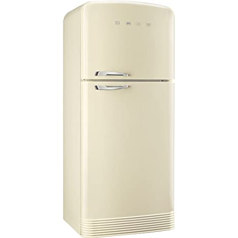 Smeg FAB50RCR Independiente 412L A++ Crema de color nevera y ...