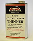 Dural No. 2672-5 Contact Cement Thinner - 1 quart