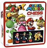 SUPER MARIO Chess Set   32 Custom Scuplt Chesspiece Including Iconic Nintendo Characters Like Mario, Luigi, Peach, Toad, Bowser   Themed Chess Game from Nintendo Mario Video Games