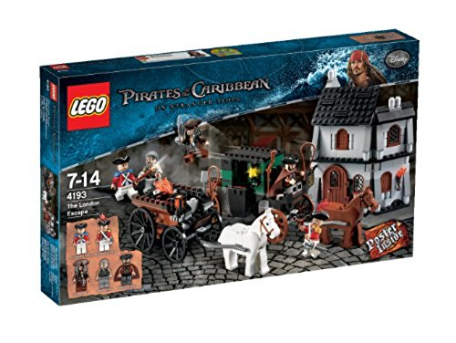 LEGO Pirates of The Caribbean The London Escape (4193)