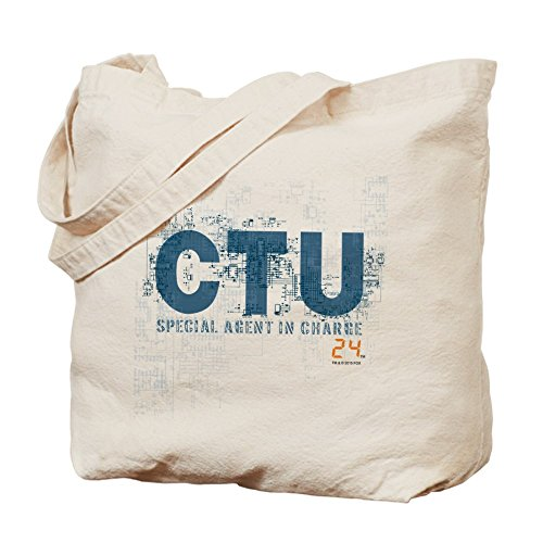 CafePress bolsa de transporte–�?4agente especial–gamuza de bolsa de lona bolsa, bolsa de la compra