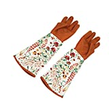 Gardening Gloves, Long Sleeves Gloves Hands and Arms Protector for Garden, Yard, Work