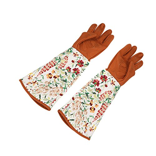 Sincere 1 Pair Anti Stab Gloves Planting Wrist Protection Accessories Gardening Labor Pruning Tools Printed Thicken Security Long Sleeve Ideal Gift For All Occasions Back To Search Resultstools