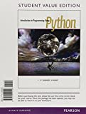 Student Value Edition - Introduction to Programming Using Python Plus MyProgrammingLab with Pearson EText -- Access Card Package 1st Edition