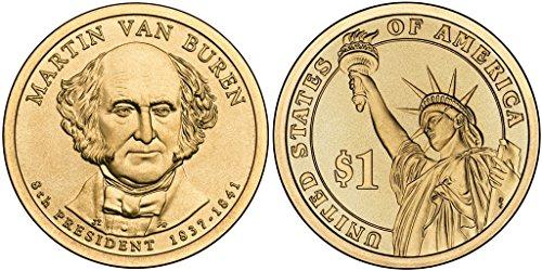 2008-P Martin Van Buren, 25-coin Roll of Presidential Dollars