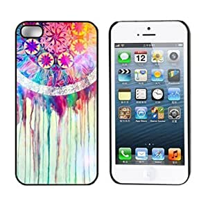 Aokdis New Hot Selling Fashional Individualized Hard Back Case for Iphone 5 5g 5s (Colorful Dream Catcher) (multi)