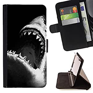 Momo Phone Case / Flip Funda de Cuero Case Cover - Noir Blanc Surf Surf - Sony Xperia Style T3