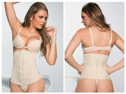 ba181a0a46 Ann Chery Latex Girdle Body Shaper 2029 at Amazon Women s Clothing store