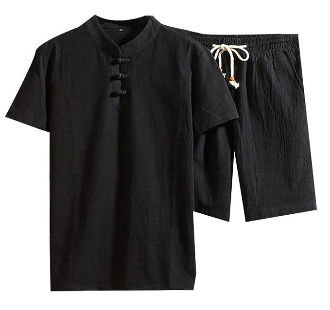 Amazon.com: YIhujiuben - Pantalones cortos para hombre, 2 ...
