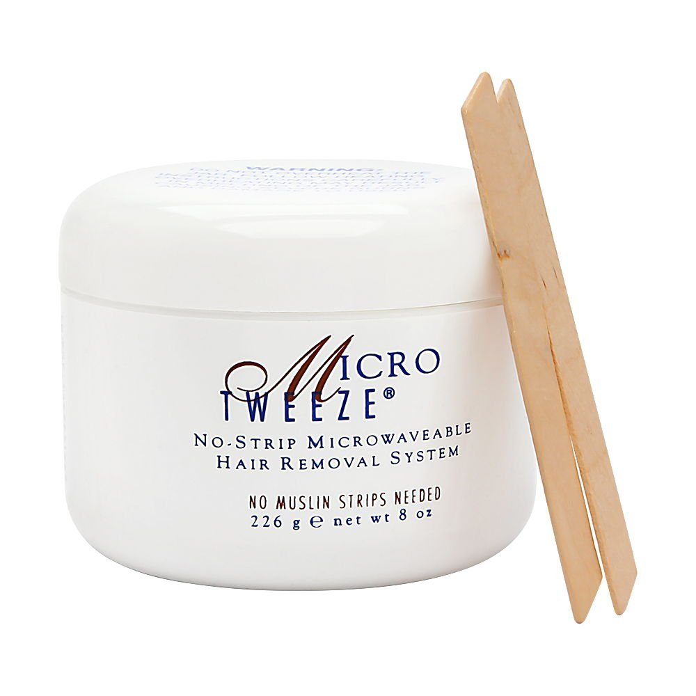 Micro Tweeze No- Strip Microwaveable Hair Removal System, 8 oz