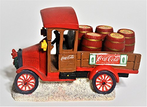 Coca Cola Town Square Collection Model T Delivery Truck (Coca Cola Garden)