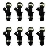 New OEM Fuel Injector Set of (8) For Cadillac Escalade Sliverado Sierra Suburban 1999-2007 FJ315 FJ10062