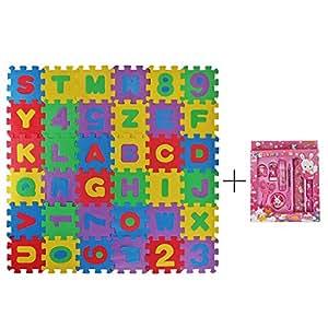 Meiqils l piz stationery set alfombra infantil de puzzle goma eva 36 piezas desmontables manta - Alfombras de goma espuma para ninos ...