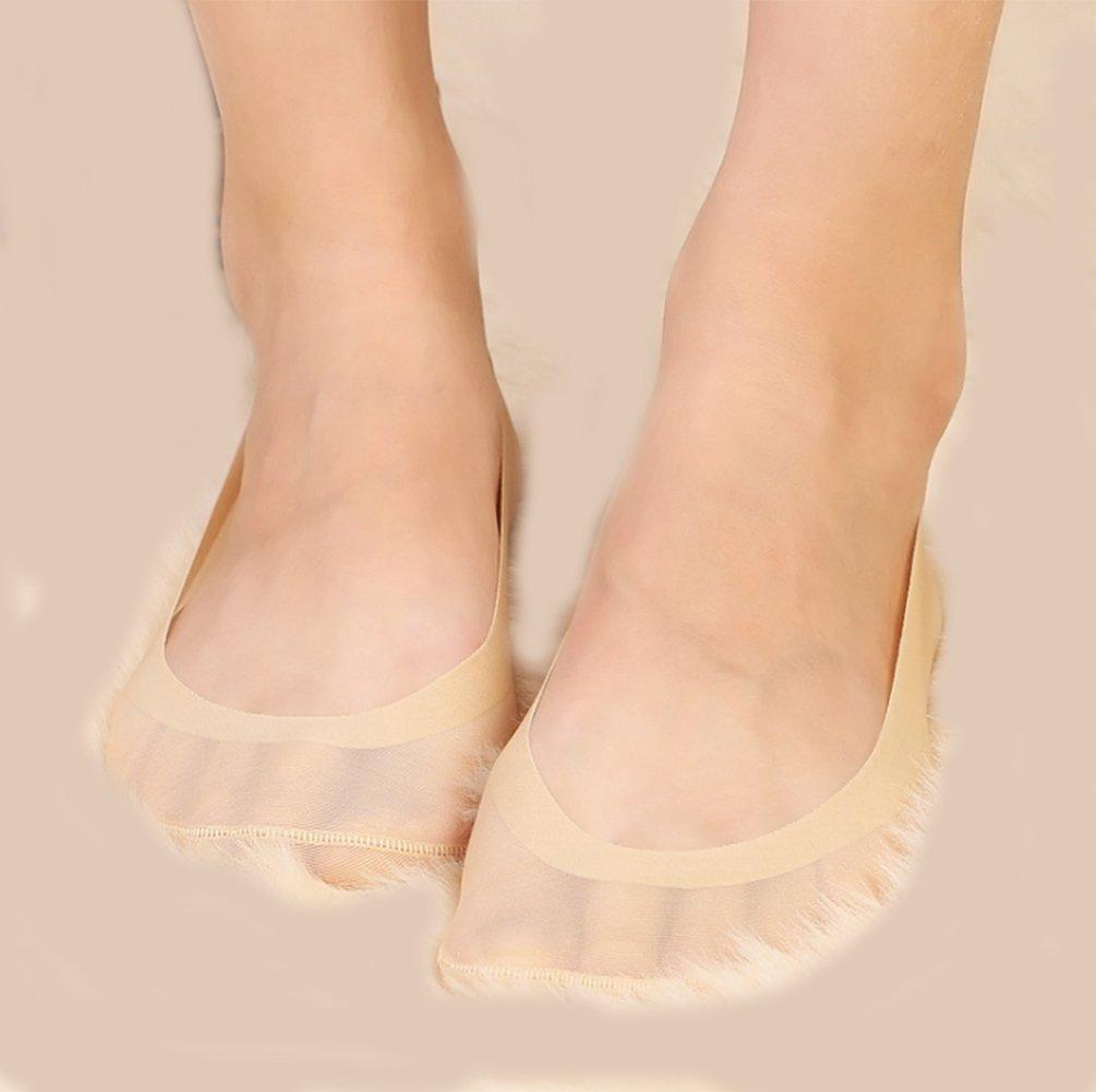 Gauss Kevin Thin Ice Silk No Show Low Cut Liner Socks Women Elastic Nylon Summer Sock Non Slip by Gauss Kevin (Image #6)