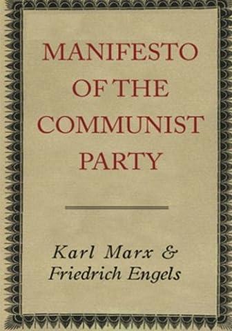 Manifesto of the Communist Party: Manifesto (History Manifesto)
