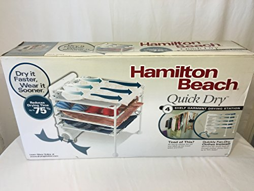 Hamilton Beach 11510 4 Shelf Garment