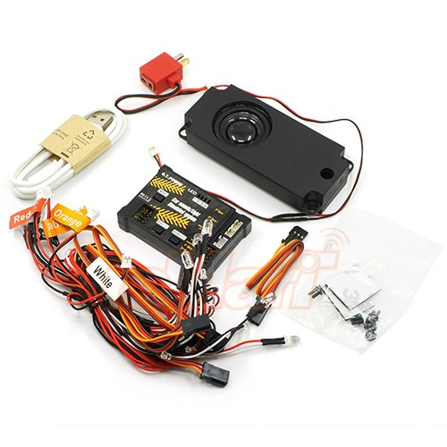 G.T. Power R/C Car Sound Light Simulated Module For 1/10 RC CAR #GTP-139