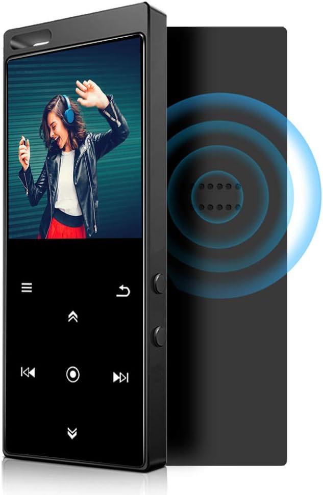 Reproductor MP3 IHOUMI de 32GB, Bluetooth 4.2, con Radio FM, Grabación, Pantalla de 1,8