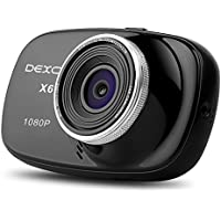 Dexors X6 Car Dash Cam 2.7 Inches LCD FHD 1080P 170 Wide Angle Dashboard Camera Recorder with G-Sensor, WDR, Loop Recording (Novetek NT96650 Chip)