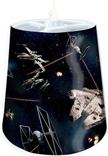 Official Star Wars tapered light shade. Disney original