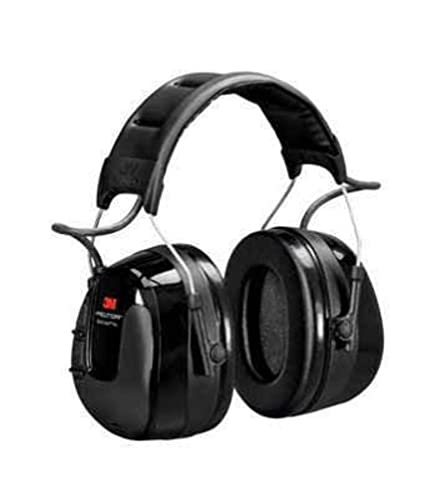 f6046510ce4 Amazon.com: 3M PELTOR WorkTunes Pro AM/FM Radio Headset, 32 dB, Black,  Headband, HRXS221A: Camera & Photo