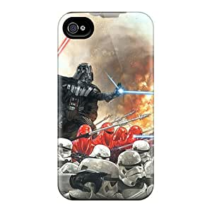 Great Hard Phone Cases For Iphone 6plus With Customized Vivid Star Wars Darth Vader Pattern ChristopherWalsh