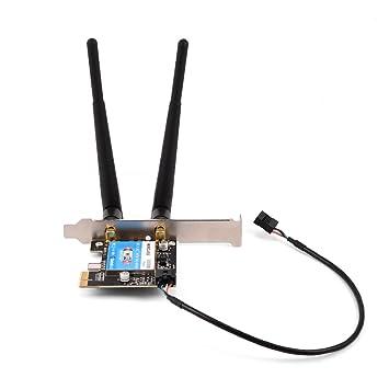 Simlug Tarjeta de Red inalámbrica, Bluetooth 4.2 + 2.4G / 5G ...