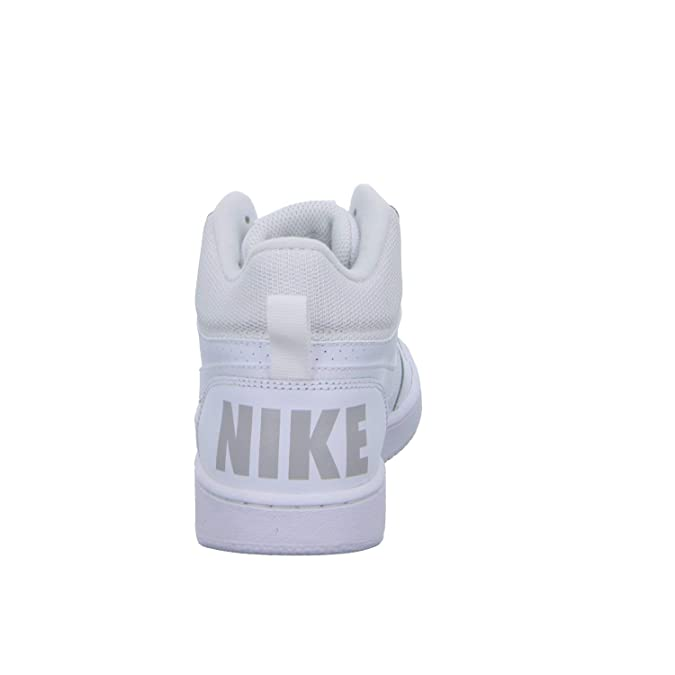 Nike Court Borough Mid - Zapatillas Niño Blanco Talla 39: Amazon ...
