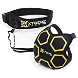 Premium Soccer Kick Trainer - Hands Free Solo Football Agility Training, Ball Return and Soccer Rebounder. Fits Ball Size 3, 4, 5