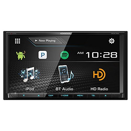 Kenwood DDX794 6.95-Inch 2-DIN DVD Receiver with Bluetooth and HD Radio by Kenwood (Image #3)