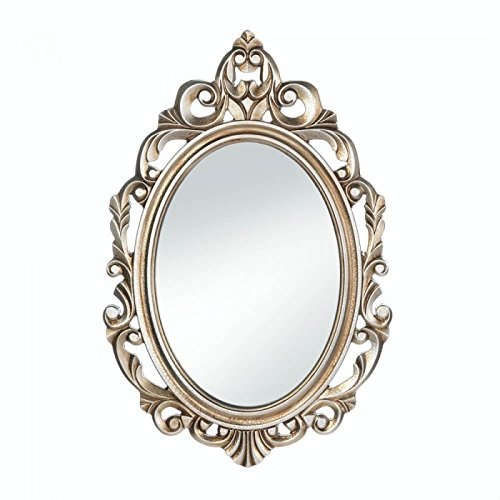 Gold Royal Crown Wall Mirror