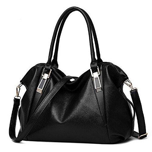 Bag Blushing Wine PU Bags Women's Buttons Shoulder GMYAN Black Brown Pink znFqIwnp
