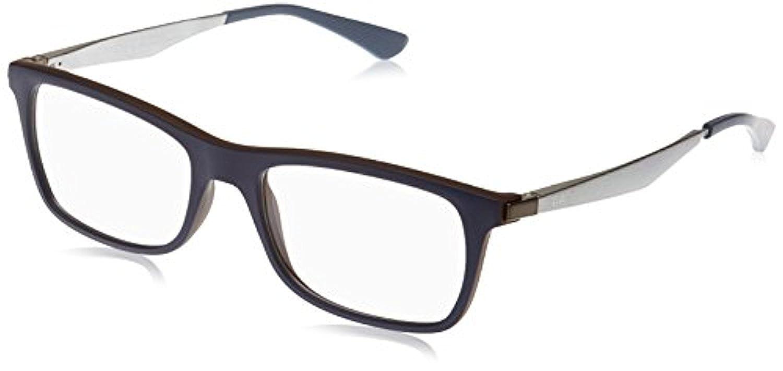 RB Mens RX7062 Eyeglasses /& Cleaning Kit Bundle