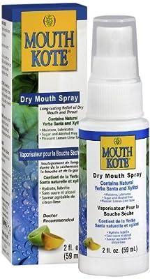 Mouth Kote Oral Moisturizer with Yerba Santa Dry Mouth Spray, 2 Fluid Ounce