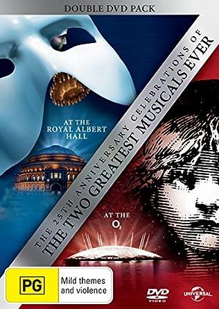 Andrew Lloyd Webber - Les Miserables /Phantom Of The Opera - 25Th Anniversary Ed 2 Dvd Edizione: Australia Italia: Amazon.es: Cine y Series TV