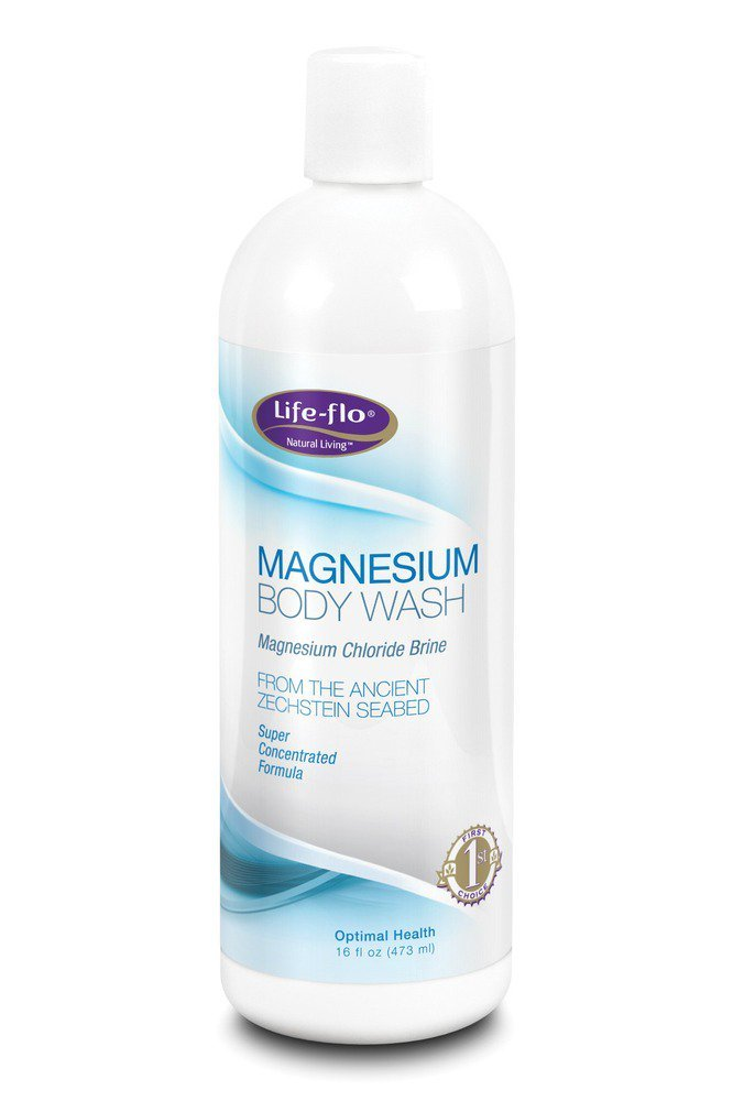 Magnesium Body Wash Life Flo Health Products 16 oz Liquid