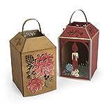 ellison press - Sizzix 662283 Thinlits Die Set 10-Pack, Winter Lantern by Katelyn Lizardi, Multi