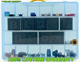 Roblox Carrying Case - Stores Dozens Of Figures- Durable Toy Storage Organizers By Life Made Better - Blue