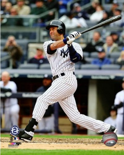 Derek Jeter New York Yankees 2014 Final MLB Season Action Photo (Size: 8