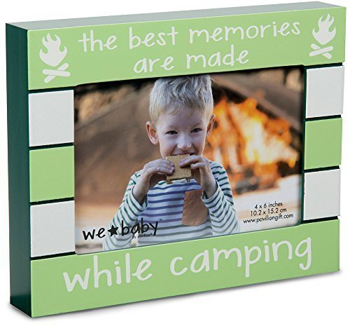 The Best Memories Are Made While Camping Picture Frame made our list of Gifts For Active Women, Gifts For Women Who Hike, Gifts For Women Who Fish, Gifts For Women Who Camp