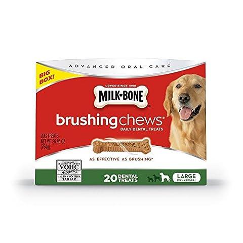 Milk-Bone Brushing Chews Dog Treats Large 26.95 Ounce