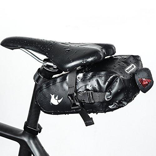 Waterproof Bicycle Saddle Bag Bike bag under seat bag Rainproof Mountain Road Bike Seat Bag Bicycle Bag Professional Cycling Accessories by Rhinowalk (Image #6)