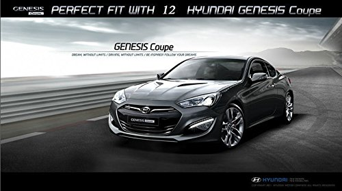 Automotiveapple LED Europea humo tipo lámpara de cola para Hyundai Genesis Coupe: Amazon.es: Coche y moto