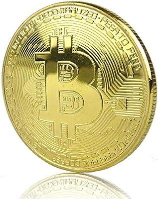 LZWIN Rexul – 1 Moneda Bitcoin, chapada en Oro, Coleccionable ...