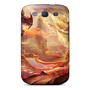 BHarries MfP2543PvNL Case Cover Skin For Galaxy S3 (enchanted Dragon)