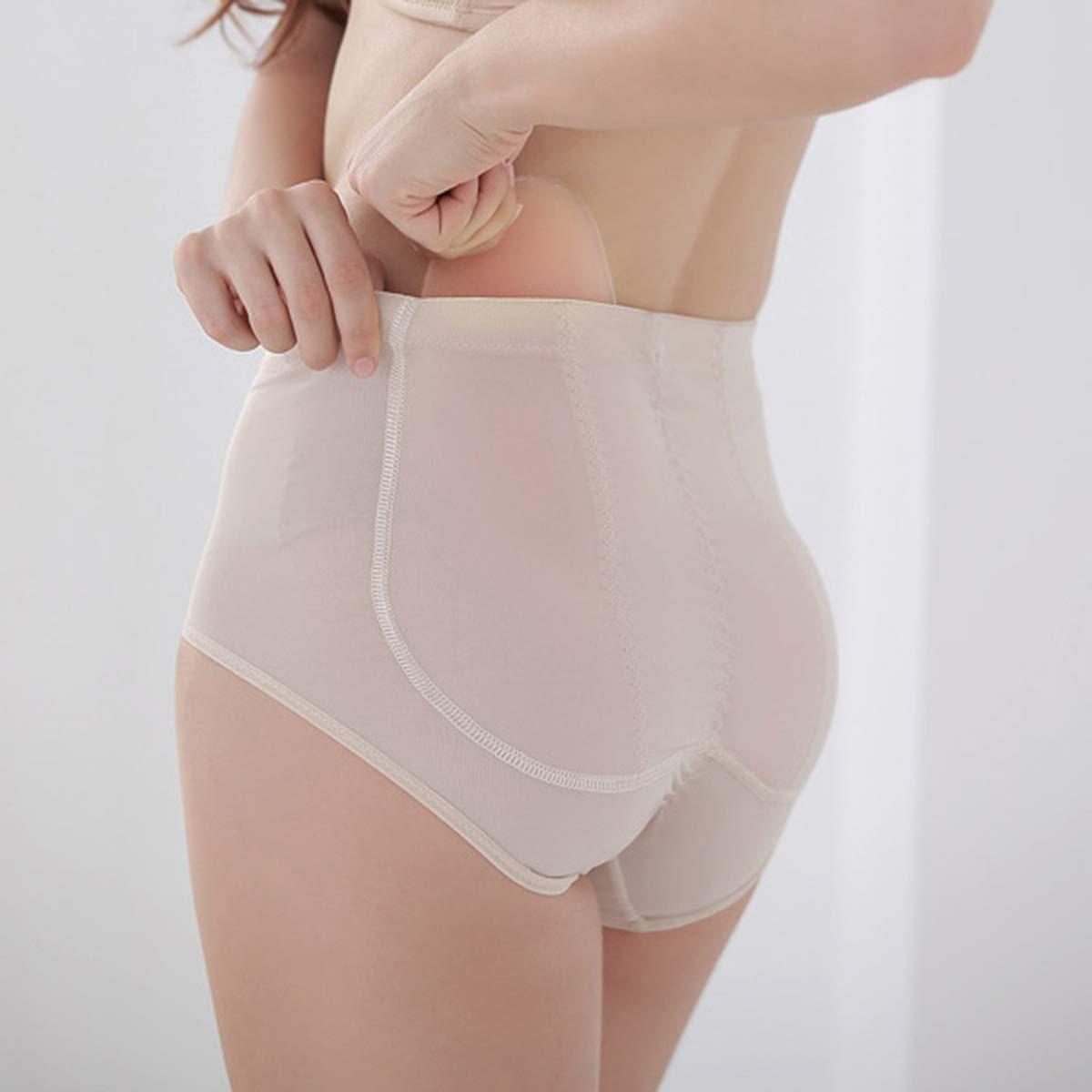 iEFiEL 1 Pair Silicone Butt Pads Buttocks Enhancer Padding Women Push up Panties